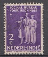 Indes Néerlandaises 1939 Nvph Nr. 266 Sociaal Bureau  Oblitérés /Used / Gestempeld - Indes Néerlandaises