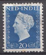 Indes Néerlandaises 1948 Nvph Nr. 338 Koningin Wilhelmina  Oblitérés /Used / Gestempeld - Niederländisch-Indien