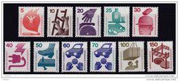 Duitsland Kleine Verzameling 555/57 En 574/78 **, Zeer Mooi Lot Krt 3839 - Sammlungen (ohne Album)
