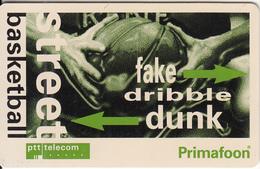 NETHERLANDS(chip) - Street Basketball, Tirage 4455, Used - Privat