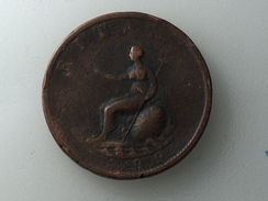 UK 1/2 PENNY 1799 HALF GRANDE BRETAGNE - 1662-1816 : Antiche Coniature Fine XVII° - Inizio XIX° S.