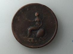 UK 1/2 PENNY 1799 HALF GRANDE BRETAGNE - 1662-1816 : Anciennes Frappes Fin XVII° - Début XIX° S.