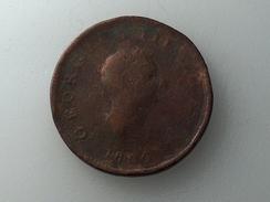 UK 1/2 PENNY 1806 HALF GRANDE BRETAGNE - 1662-1816 : Antiche Coniature Fine XVII° - Inizio XIX° S.