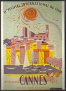 Carte Postale : IVe Festival International Du Film (affiche, Film, Cinéma) Cannes 1951 (ill. : Rodicq) - Plakate Auf Karten