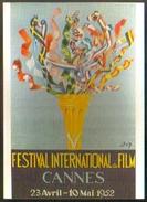Carte Postale : Ve Festival International Du Film (affiche, Film, Cinéma) Cannes 1952 (ill. : Don) - Plakate Auf Karten
