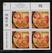 2018  CANADA YEAR OF THE DOG    UL BLOCK   MNH - Blocs-feuillets