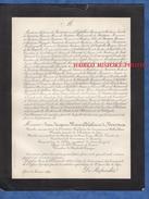 Document Ancien De 1886 - LYON - Jean Jacques Marie Alphonse De BOISSIEU - Commandeur Ordre Pontifical De St Grégoire - Documents Historiques