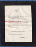 Document Ancien De 1893 - LYON - Mademoiselle Fany DE BOISSIEU - Documents Historiques
