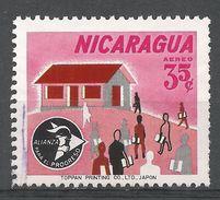 Nicaragua 1964. Scott #C546 (U) Adult Education - Nicaragua