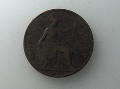 UK 1/2 PENNY 1899 HALF GRANDE BRETAGNE - 1816-1901 : Frappes XIX° S.
