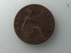 UK 1/2 PENNY 1905 HALF GRANDE BRETAGNE - 1902-1971 : Monnaies Post-Victoriennes