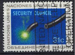 Nations Unies 1977 Oblitéré Used Security Council Conseil De Sécurité SU - Oblitérés