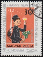 HUNGARY - Scott #1557 New Year '63 (*) / Used Stamp - Hungary