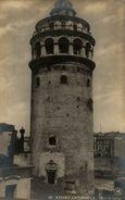 RPPC      Constantinople (Istanbul ) - Tour De Galata  TURQUIE - Turquia
