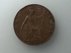 UK 1/2 PENNY 1913 HALF GRANDE BRETAGNE - 1902-1971 : Monnaies Post-Victoriennes