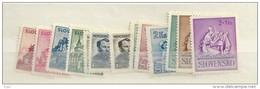 1941 MH Year Collection Slowakei, Slovensko - Slovakia
