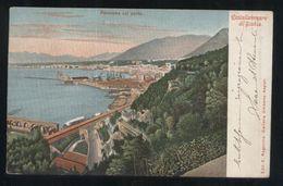 CASTELLAMMARE DI STABIA - 1902 - PANORAMA COL PORTO - Castellammare Di Stabia