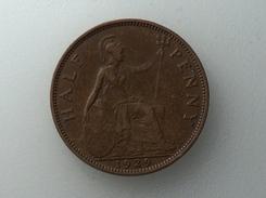 UK 1/2 PENNY 1929 HALF GRANDE BRETAGNE - 1902-1971 : Monnaies Post-Victoriennes