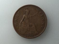 UK 1/2 PENNY 1930 HALF GRANDE BRETAGNE - 1902-1971 : Monnaies Post-Victoriennes