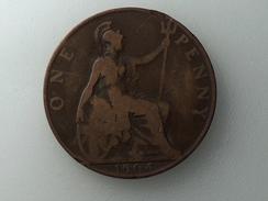 UK 1 PENNY 1904 ONE GRANDE BRETAGNE - 1902-1971 : Monnaies Post-Victoriennes