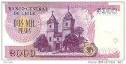 CHILE P. 160b 2000 P 2007 UNC - Chile