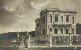 RPPC Turquie : Constantinople ( Istanbul ) Kiosque Des Eaux Douces D'Asie    Turkey    TURQUIE - Turquia