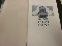 AGENDA PLM 1931-305 Pages-France Paris-Corté-Corse-Alger-Tunisie-Maroc-Expo Coloniale-Pub-Gravure Couleur-Voir 72 Scanns - Otros
