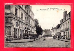 61-CPA ALENCON - RUE DES FILLES NOTRE-DAME - Alencon