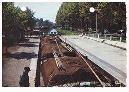 LILLE  Peniche  Batellerie - Le Quesnoy