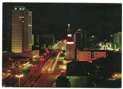 RHODESIA/ZIMBABWE - JAMESON AVENUE AT NIGHT, FACING EAST, SALISBURY / THEMATIC STAMP-TOBACCO - Zimbabwe