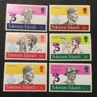 Solomon Islands   - MNH**  - 1980 - # 483/488 - Solomon Islands (1978-...)
