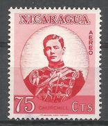 Nicaragua 1966. Scott #C587 (U) Winston Churchill As Young Officer - Nicaragua