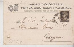 Mestre Venezia Milizia Volontaria Per La Sicurezza Nazionale - Venezia