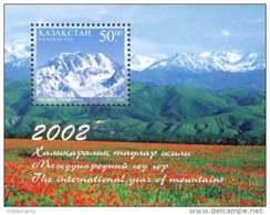 Kazakhstan 2002 Mih. 397 (Bl.26) International Year Of Mountains MNH ** - Kazakhstan