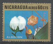 Nicaragua 1969. Scott #C700 (M) Cotton - Nicaragua