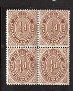 Cayman Islands MNH Block Of Four (c121) - Groot-Brittannië (oude Kolonies En Protectoraten)