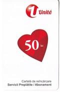 Moldova , Moldavie  Moldau ,  Prepaid Phonecard -  Unlte , 50 Lei , 2011 , Paper , Used - Moldova