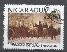 Nicaragua 1982. Scott #C1016 (U) George Washington At Valley Forge - Nicaragua