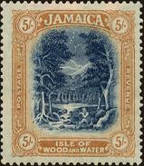 Jamaica Scott #86, 1921, Hinged - Jamaica (...-1961)