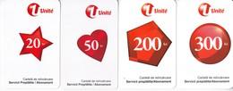 Moldova , Moldavie  Moldau ,  Prepaid Phonecard -  Unlte , Set , Paper , Used - Moldova