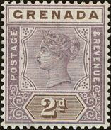 Grenada Scott #41, 1899, Hinged - Grenada (...-1974)