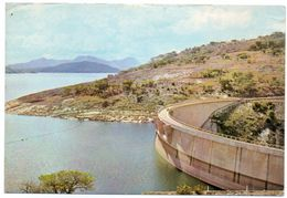 RHODESIA/ZIMBABWE - LAKE KYLE AND DAM WALL,FORT VICTORIA - Zimbabwe