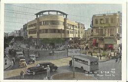 """356 - """"TEL AVIV - MAGEN DAVID SQ.""""  -  CARTOLINA -   NON SPEDITA - Israel"""