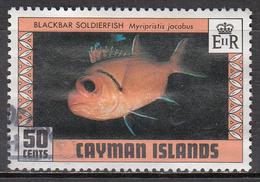 CAYMAN ISLANDS      SCOTT NO  418     USED       YEAR   1978 - Cayman Islands