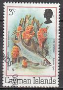 CAYMAN ISLANDS      SCOTT NO  452     USED       YEAR   1980 - Cayman Islands