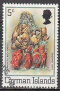 CAYMAN ISLANDS      SCOTT NO  453     USED       YEAR   1980 - Cayman Islands