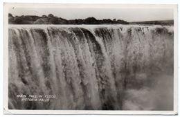 RHODESIA (ZIMBABWE) - MAIN FALL IN FLOOD,VICTORIA FALLS -1960 - Zimbabwe
