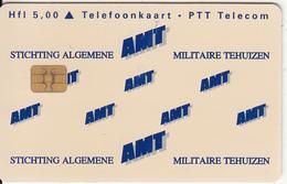 NETHERLANDS(chip) - Stichting Algemene Miltaire Tehuizen, Tirage 6155, Used - Paesi Bassi