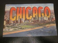 CHICAGO CITY BEAUTIFUL TOURIST GUIDELINE USA UNITED STATES OF AMERICA DÉPLIANT GUIDE TOURISTIQUE ETATS UNIS D'AMÉRIQUE - Toeristische Brochures