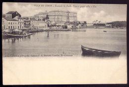 VILLA Do CONDE Vila - Convento Santa Clara E Pontre Rio Ave (Porto). Postal - Edição De F.A.MARTINS - PORTUGAL 1900s - Porto